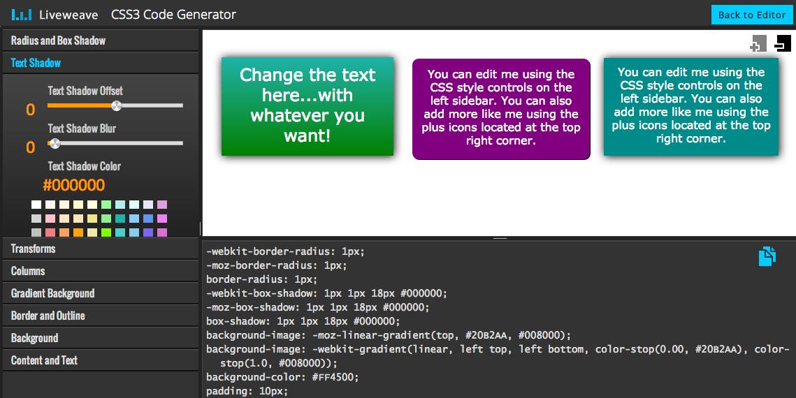 CSS3_code_generator